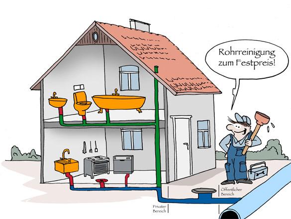 Rohrreinigung Heilbronn Neckarsulm Bad Rappenau